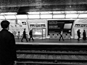 sevres-babylone metro station paris